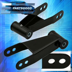 For 04 14 Ford F150 Adjustable 2 3 Rear Suspension Leveling Lowering Shackles