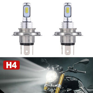 H4 9003 Hb2 Led Bulb Hi lo Beam Hid 6000k White Motorcycle Headlight High Power