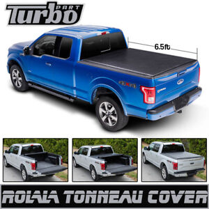 For 99 06 Chevy Silverado Sierra 6 5ft 78 Soft Roll Up Tonneau Short Bed Cover