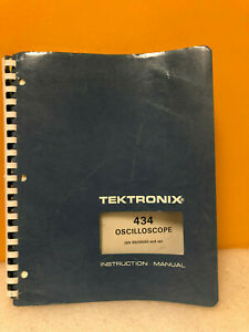 Tektronix 070 1915 00 434 Oscilloscope Instruction Manual