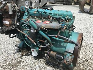 1993 International Dt360 Mechanical Diesel Engine Running Take Out 190 Hp