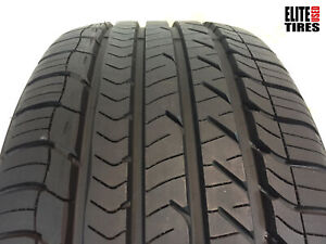 1 Goodyear Eagle Sport All season P255 40r18 255 40 18 Tire Driven Once