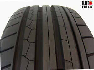 1 Dunlop Sp Sport Maxx Gt P245 45r18 245 45 18 Tire Driven Once