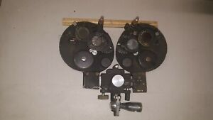 Vintage Bausch Lomb Optical Refractor Phoropter Eye Exam Tool For Display Only