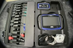 Used Otc Genisys Touch Diagnostic Scanner Scan Tool Deluxe Kit
