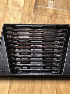 Snap On Tools Oexm710b 10 Piece Metric Combination Wrench Set 10 19mm