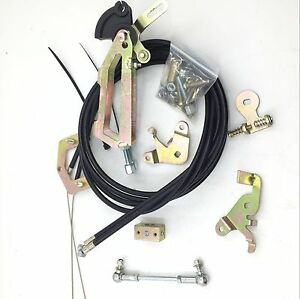 Twin Cable Top Mounted Throttle Linkage For Weber Twin Carb 40 45 48 50 55 Dcoe