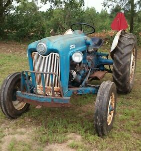 Good Running 1953 Ford Golden Jubilee Naa Tractor With Only 404 Original Hours
