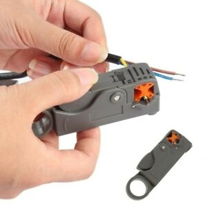 Automatic Double Blades Stripping Pliers Wire Stripper Cutter Wire Cable Tools