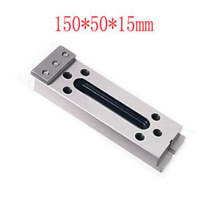 Wire Edm Fixture Board Stainless Steel Jig Tool Clamp And Level 150x50x15mm