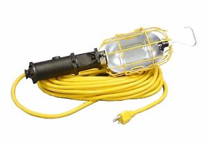 Alert Industrial Incandescent Heavy Duty Trouble Light With Switch 25 Ft