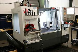 2015 Haas Vf 2ss Hrc 210 4th Axis 15k Spindle Low Hours Video Available