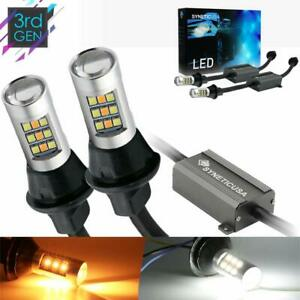 3157 Error Free Canbus Ready Dual Color Switchback Led Turn Signal Light Bulbs D