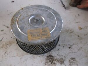 Vintage Old School Bath Air Cleaner Ford Chevy Dodge Filter Breather 2 Barrel
