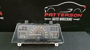 1992 Dodge D50 Speedometer Instrument Dash Gauge Cluster Assembly 113 940 Miles