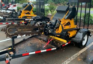 Boxer 120 Hydraulic Ditch Trencher Trailer By Morbark Kohler Witch Guaranteed