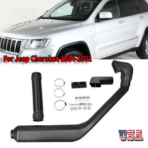 For 1984 2001 Jeep Cherokee Xj Cold Air Intake System Rolling Head Snorkel Kit