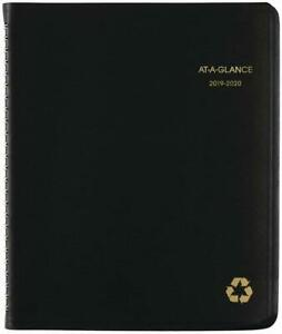 At a glance 2019 2020 Academic Year Weekly Monthly Planner appointment Book M