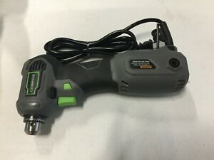 Genesis Corded 3 8 Inch Right Angle 90 Degree Power Drill Variable Speed Tool