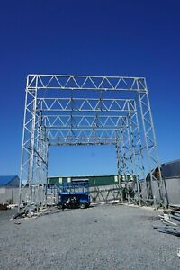 Galvanized Clear Span Shelter Structure