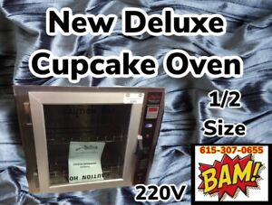 New Deluxe Cupcake Baking Oven 1 2 Size 208v 1 Phase