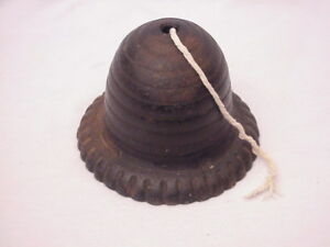 Antique Beehive Cast Iron String Holder Country Store Post Office Etc