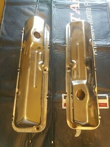 Ford Oem Original 65 66 Ford Galaxie Fairlane 390 Gt Chrome Valve Cover 427
