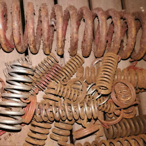 9 75 Lbs Of Rusty Springs Many Asst Sizes Styles For Art Sculpture Crafts