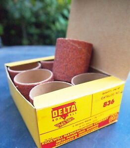 Delta Rockwell Sanding Drum Sleeves - #836#837 and #838 - Made in USA