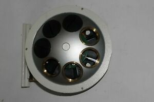 Leica 501076 Microscope Septuple Motorized Nosepiece M25 Objectives 7 position