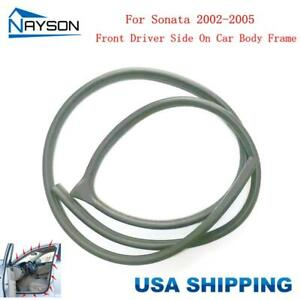 Door Rubber Weatherstrip On Car Body Front Left For Hyundai Sonata 2002 2005