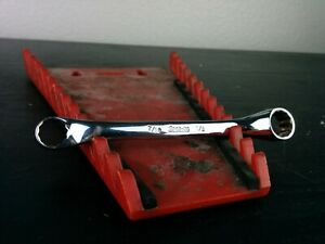Aa693 Snap On Xs1416 7 16 1 2 12pt Sae Flank Drive Offset Box Wrench Usa