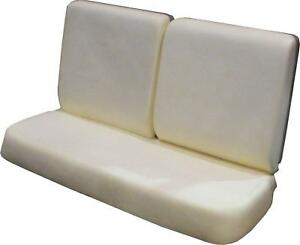 1964 1967 Chevelle Tempest Cutlass Skylark Split Bench Seat Foam Bun