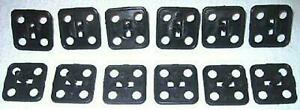 66 68 Fairlane 66 67 Comet Hood Insulation Clip Set 12p