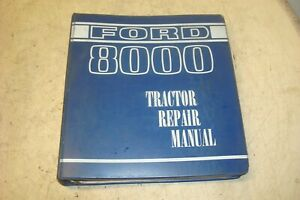 Ford 8000 Tractor Repair Manual