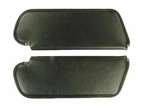 1972 1973 Dart Hardtop Sun Visors Coachman Pattern Black Color