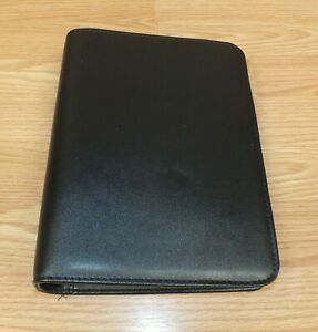 Franklin Covey 1 5 Black Binder Ring Planner Organizer Office Or Personal Use