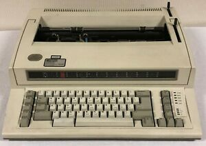 Ibm Personal Wheelwriter 6781 Electric Typewriter