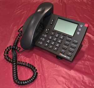 Shoretel Ip 230g Voip Display Telephone Handset Stand Black A599 1004 02