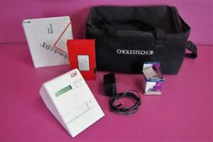 Cholestech Ldx Blood Cholesterol Analyzer And With User Manual Vhs