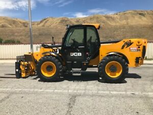 Jcb Loadall 550 140 T4 Iiib Year 2014 10 000 Lbs Capacity 45 Ft Height 900 Hours