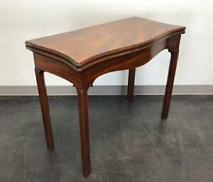 Antique Walnut Gateleg Game Table