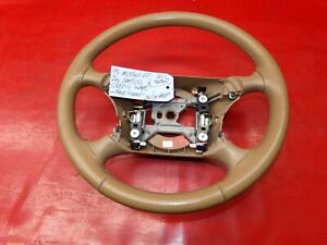 94 04 Mustang Gt Cobra Tan Saddle Brown Leather Wrap Wrapped Steering Wheel 849