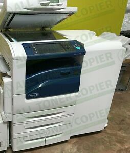 Xerox Workcentre 7970 Laser Color Bw Printer Scan Copier Finisher 70ppm A3 75k