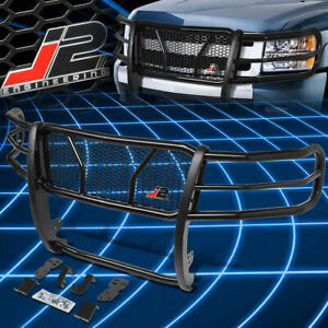 J2 Engineering For 07 13 Chevy Silverado 1500 Front Bumper Grille Brush Guard