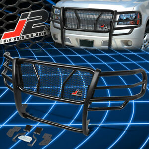 J2 Engineering For 07 14 Tahoe Avalanche 1500 Front Bumper Grille Brush Guard