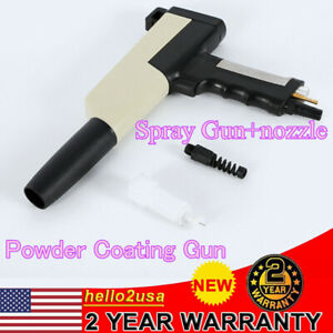 Powder Coating Gun System For Hobby User Tribo Powder Coat Spray Gun Portable
