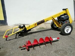 Ground Hog Model 1m 5ch Post Hole Digger Earth Auger Gas Powered W bit We Ship