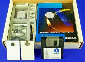 Ds9092k Touch Memory Starter Kit Dallas Semiconductor Ibuttons With Cd
