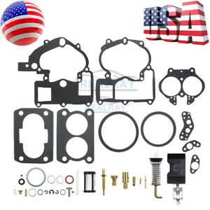 Carburetor Kit For 2 Barrel Rochester 2gc Inboard Marine Mercruiser 1397 6367
